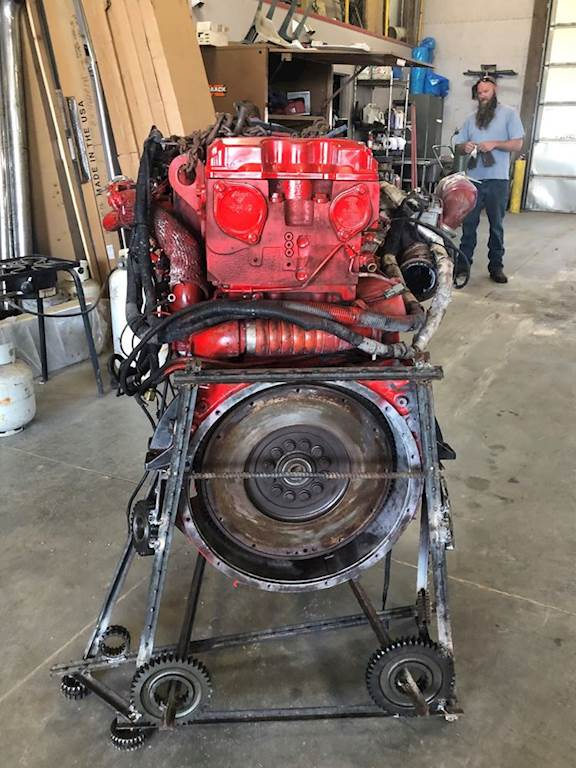 Cummins ISX Engine for a 2009 Kenworth