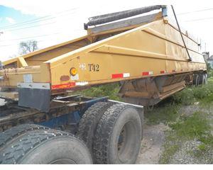COOK Semi-Bottom Dump Trailer