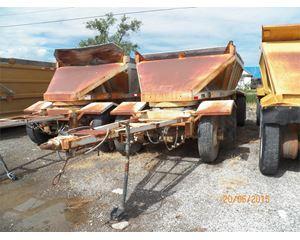 Fruehauf DES-B2-M11A Semi-Bottom Dump Trailer