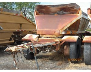 Fruehauf DES-B2-M11A Semi-Bottom Dump Trailer