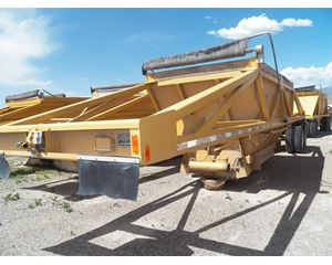 HARRIS BDS3011 Semi-Bottom Dump Trailer