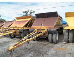 Load King 1215 Semi-Bottom Dump Trailer