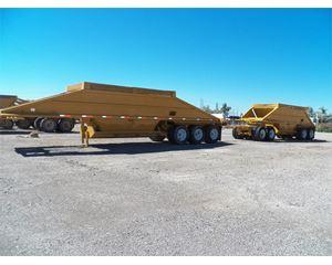 Load King Semi-Bottom Dump Trailer