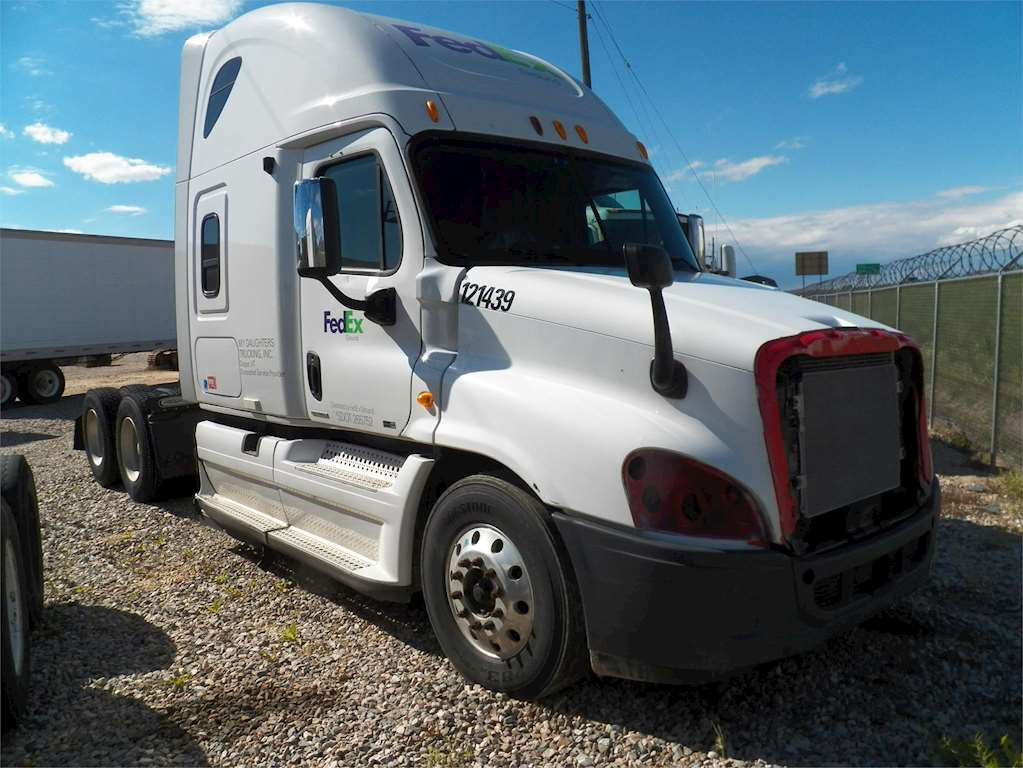 2012 freightliner cascadia 125 sleeper semi truck for sale ogden ut bh2213 fl. Black Bedroom Furniture Sets. Home Design Ideas