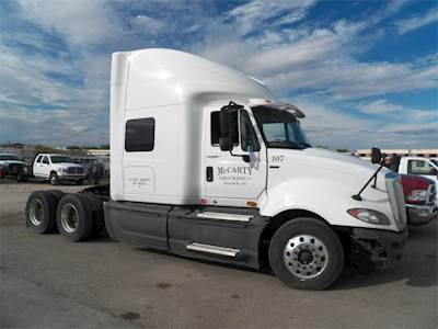 International ProStar+ (Plus) Sleeper Semi Truck