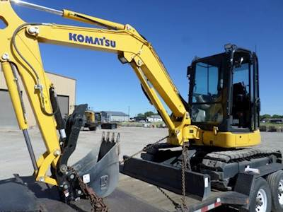 Komatsu Mini Excavators For Sale | MyLittleSalesman com