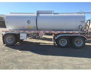 Beall 5000 Gallon Pup 3 Axle Crude Oil Tank Trailer