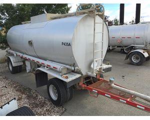 Heil 5,000 Gallon Insulated Pup Crude Oil Tank Trailer