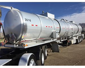 Polar 12,000 Gallon 4 axle Crude Oil Tank Trailer