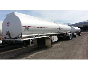 Polar 9500 Gallon Crude Oil Tank Trailer