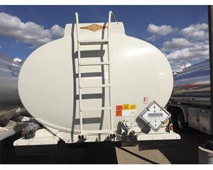 Beall 9500 Gallon Semi Gasoline / Fuel Tank Trailer