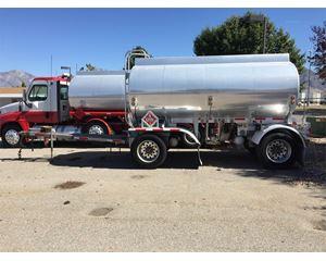 Heil 3500 Gallon Pup Gasoline / Fuel Tank Trailer