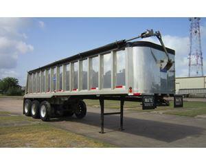 2010 MATE 32FT Frameless Tri-Axle Dump Trailer